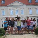 Deutsch-Ungarische Freundschaft - Gruppenfoto der deutschen und ungarischen Teilnehmenden