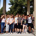 Gruppenfoto im Schlosspark Sans Soucis