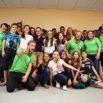 Gruppenfoto mit Allen Beteiligten beim Abschiedabend 2017