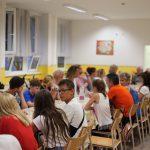 Abendessen in der Schule in Szilvásvárad